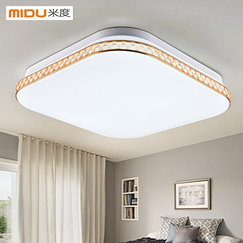 Enthusiastic 24w Round Led Ceiling Lights Modern Flush Mounted Led Ceiling Lamp For Living Room Bedroom Decoration Fixtures Lighting Elegant In Smell Ceiling Lights