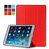 WiTa-Store Tasche für Apple iPad Air 2 9.7 Zoll Schutz Hülle Flip Tablet Cover Case iPad 6 (Rot) Neu