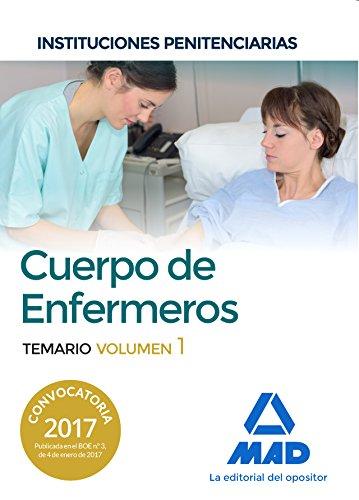 Cuerpo de Enfermeros de Instituciones Penitenciarias. Temario Volumen 1