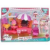 Lalaloopsy Minis Salon Maquillaje y belleza Estuche de juego - juguetes de rol para niños (Maquillaje y belleza, Estuche de juego, 4 año(s), 104 año(s), Chica, Multicolor)