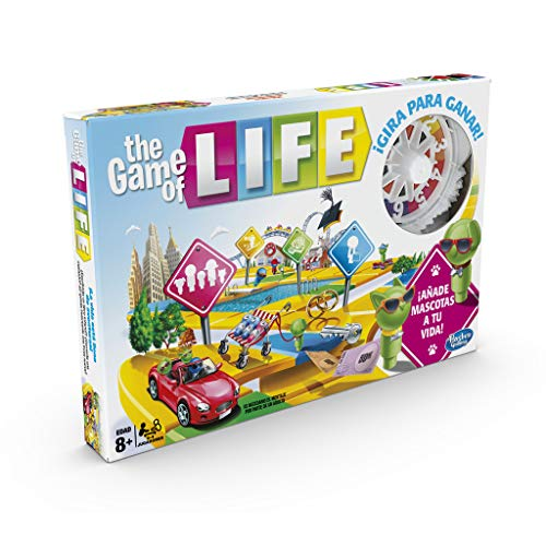 Hasbro Gaming - Juego de mesa Game Of Life...