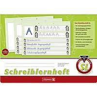 Brunnen 1044040 Schreiblernheft SL (A4, quer, Lineatur SL, 16 Blatt)