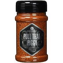 Ankerkraut Pull that Piggy, Pulled Pork BBQ Rub, 220g im Streuer, Marinade/Gewürzmischung zum Grillen