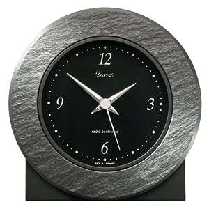 Vaerst 2646 orologio da parete senza fili in ardesia for Ardesia per cucinare