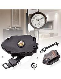 Mecanismo de reloj de repuesto con mecanismo de péndulo y mecanismo de cuarzo, para colgar relojes, relojes, relojes,…