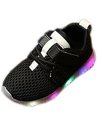 ULA-ULA Niños Zapatos Con Rueda Junior Led Zapatillas de Patìn Roller Sneakers Deportivos con luz