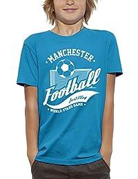 PIXEL EVOLUTION Camiseta 3D FÚTBOL Manchester en Realidad Aumentada Niño
