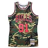 Mitchell & Ness M&N Swingman Jersey Dennis Rodman Chicago Bulls 1997-98 NBA Trikot camo