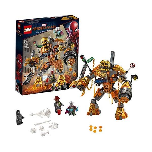 LEGO- Super Heroes Marvel la Battaglia di Molten Set di Costruzioni per Bambini, da +7 Anni ed Appassionati, Multicolore… 1 spesavip