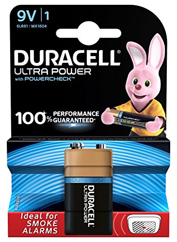 Duracell Batterien Ultra Power Blister 1 x 9 Volt Duracell Coppertop 9v Batterien