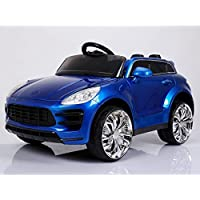 Porsche Macan Style Ride on Car with Parental Remote Control - Red