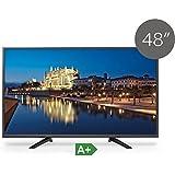 TV LED FullHD TD SYSTEMS 48 pouces Full HD k48dls6 F (Résolution 1920 * 1080/VGA 1/HDMI USB 3/EUR 1/2) Écran LED Full HD slim