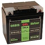 Orbis Gel53030 Motorradbatterie - C60-N30L-A 53030 12 Volt 30 Ah 400 A