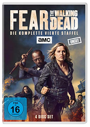 Fear The Walking Dead - Staffel 4 (Uncut) [4 DVDs]