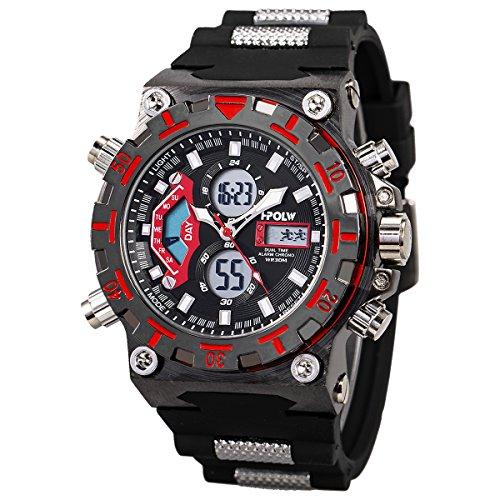 Montre Sport Numérique Montre bracelet Grand cadran...