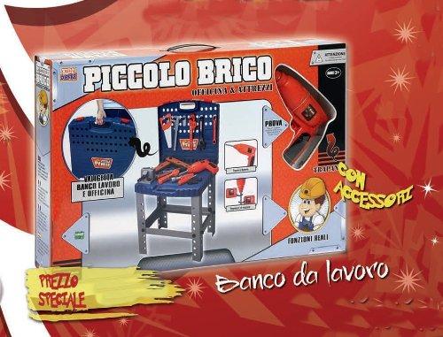 Distribuidores de Juguetes Banco Accesorios Herramientas de Trabajo, Multicolor, 4894103432303