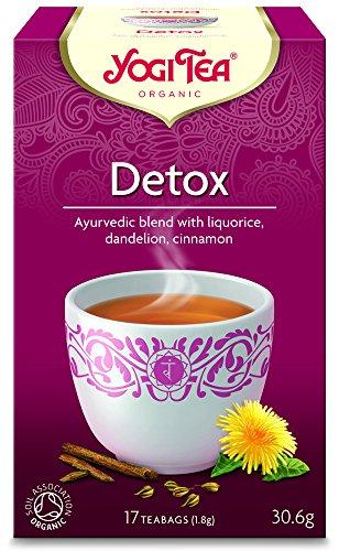 Yogi Tea De-tox 17 Teabags (Pack of 6, Total 102 Teabags)