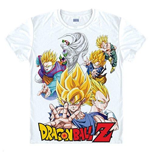 Bromeo Dragon Ball Anime Kostüm Short Sleeves Kurze -