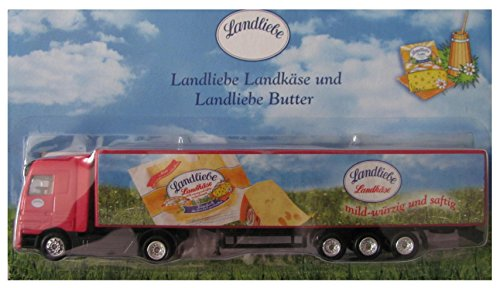 Landliebe Nr.07 - Landkäse & Butter - MB Actros - Sattelzug