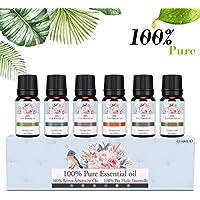 Ätherische Öle Set, Siman Duftöle für Diffuser und Aromatherapie, 100% Reines Bio naturrein Aroma-Öl, 6 Verschiedene... preisvergleich bei billige-tabletten.eu