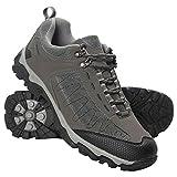 Mountain Warehouse Skyline Mens Trail Hiking Walking Travelling Outdoors Trekking Breathable Shoes Dark Grey 10 UK