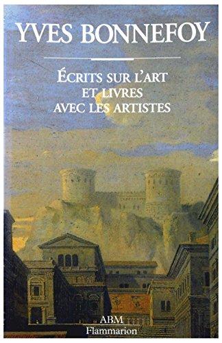 Yves Bonnefoy : Écrits sur l'art et livres avec les artistes, Château de Tours, 1er octobre-15 novembre 1993