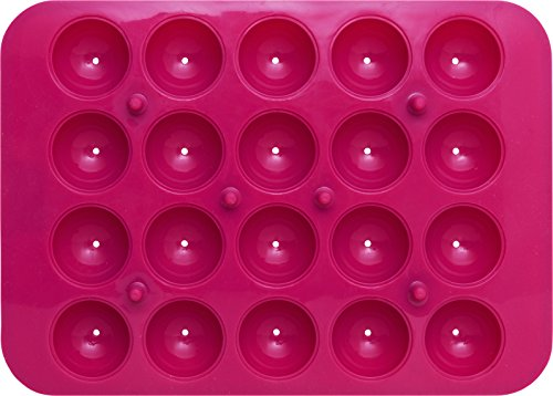 Birkmann cake pop baker rotondo stampo per dolci in silicone, silicone, 28x 18x 4cm, 2unità