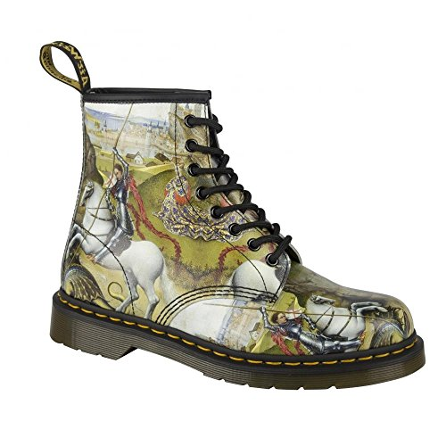 Dr Martens Womens 1460 George & Dragon Backhand 8-Eye Lace-Up Boot 22432102...