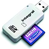 Integral USB 2.0 Single Slot SD Reader