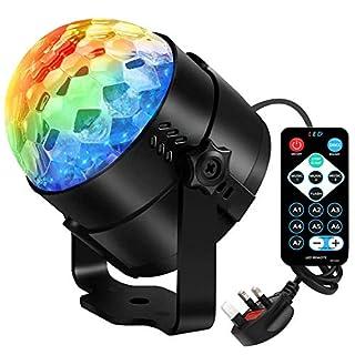 AOMEES Disco Light Disco Lights for Kids Disco Ball Light Rotating