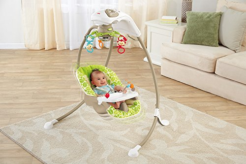 Fisher Price modelo BCG33 hamaca bebé automatica - 2