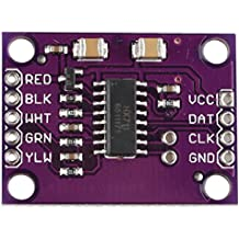 HALJIA HX711 High-precision Electronic Weighing Sensor 24-bit A/D AD Dual-channel Conveter Module for ARM AVR Arduino Raspberry Pi