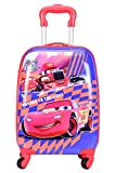 Yark Tycoon Kids Trolley Luggage Bag or Travel Suitcase 17 ' With Combination Lock (Y617CarPrint)