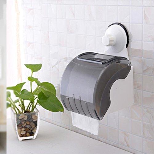 wasserdicht Stärke Saugnapf Handtuchhalter Badezimmer Tissue Box Toilette Rollenhalter Handschale Toilettenpapierhalter Punch Top Aufbewahrungsbox Einfache Installation