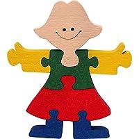 Puzzle 3D bois enfants. Puzzle princesse loisirs créatifs 1OO% hêtre. Fabriqué Europe