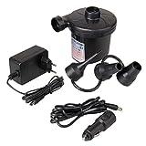 Elektrische Luftpumpe, Luftpumpe Elektrisch 2 in 1 Elektropumpe Power Pump Multifunktion Luftpumpe...