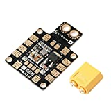 AimdonR Distribution Board - Módulo Distribuidor OCDAY 3A PDB XT60 con Doble BEC 5 V/12 V para Aviones no tripulados FPV