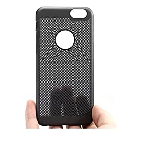 Loopee Heat Dissipation Hollow Thin Hard Back Case Cover for iphone SE 5 5S - Black