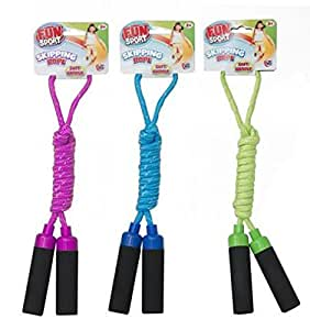 Funsport Soft Handle Skipping Rope 2.1M ~ Colour Vary