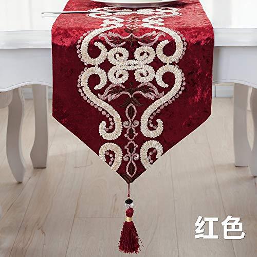Tabelle Flag Hochwertige Gewebe Western Tischdecke Im Chinesischen Stil Handtuch Tischdecke Mode Couchtisch Bett Flagge Flagge, 33 X 210 cm. ()