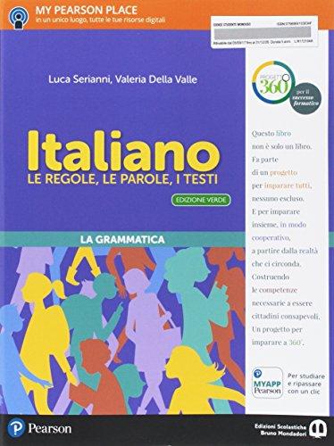 Italiano. Le regole, le parole, i testi. Italiano. Ediz. verde. Per la Scuola media. Con e-book. Con espansione online