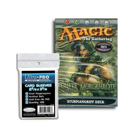 Magic fünfte Morgenröte Themendeck deutsch - Sturmangriff + 100 Kartenschutzhüllen