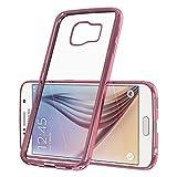 EAZY CASE GmbH Hülle für Samsung Galaxy S4 Mini - Chrom Cover Handyhülle - Schutzhülle aus Silikon in Metallic Pink