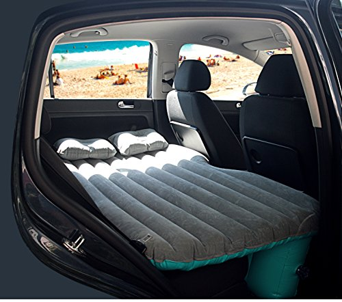 U-Grow Inflatable Car Mattress With Pump & Pillows