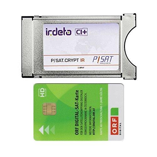 P-SAT ORF SET Irdeto CI+ Modul inklusive ORF HDTV Karte und zusätzlich 1 Monat HD Austria CIPLUS P/SAT