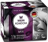 MEIN KONDOM Scatola 40er Mix preservativi - SOLIDALE & VEGANO - Made in Germany