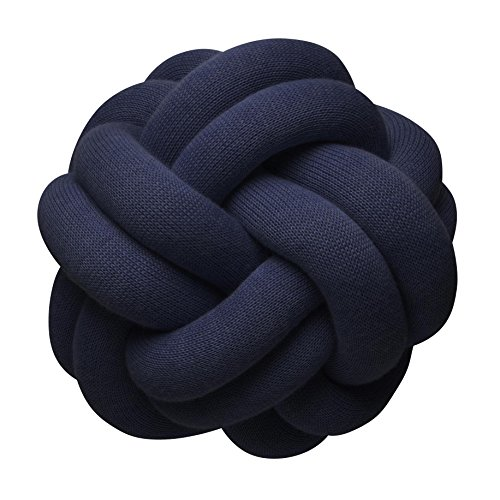 Design House Stockholm - Knot Kissen, Navy