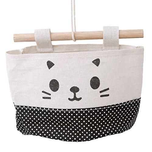 Organisator Lagerung Tasche (Lalang Multifunktionale Wohnzimmer Schlafzimmer Hängenden Tasche , Haushaltsartikel Organisator Lagerung Schutt Aufbewahrungsbox Tasche (005#))