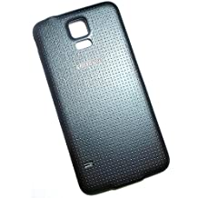 Samsung Tapa ORIGINAL, GH98-32016B para Samsung Galaxy S5, Compatible con: Galaxy S5 SM-G900F, Battery cover, Repuesto, Tapa trasera de bateria, Cubierta de batería - Negro