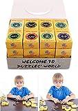 MRKE 32 Stück Knobelspiele für Kinder und Erwachsene 3D IQ Metall Puzzle Denkspiel Brainteaser Spielzeuge Kinder Geschenk